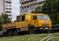 Машина аварийной службы на шасси КамАЗ-4310. г. Самара, пр. Ленина