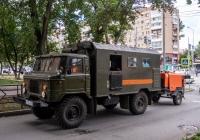 КУНГ на шасси ГАЗ-66* #К397РВ63. г. Самара, ул. Челюскинцев