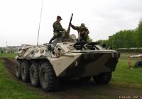 БТР-80. Алтайский край, Барнаул, Ипподром
