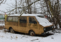 Микроавтобус РАФ-22038-01 #Р 076 ВТ 60. Псков, Алмазная улица