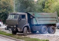 самосвал КамАЗ-55111 #М725МН163. г. Самара, Северо-Восточная магистраль