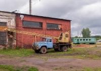 Автокран КС-2568 на шасси ЗиЛ-431412. г. Кирово-Чепецк, пос. Каринторф