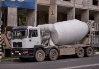 миксер на шасси MAN* #Х719АЕ163. г. Самара, ул. Северо-Восточная магистраль