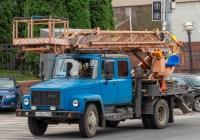 Автоподъемник АП-18* на шасси ГАЗ-3307 #У336ЕК163. г. Самара, Ульяновский спуск