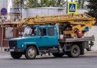 Автоподъемник АП-18* на шасси ГАЗ-3307 #Т519НО163. г. Самара, Ульяновский спуск