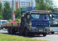 Манипулятор Mitsubishi Fuso #С215АВ163. Самара, улица Советской Армии