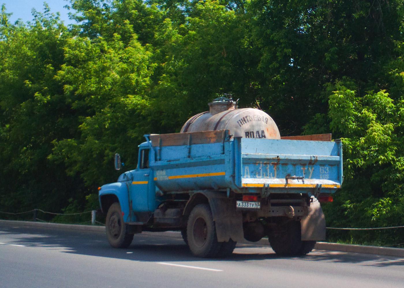 Самосвал ММЗ на шасси ЗИЛ-4314 (130) #А333ТУ63. Самарская область, Чапаевск, улица Щорса