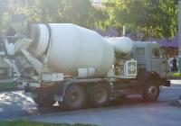 Бетоносмеситель на базе КамАЗ-55102 #Е582ЕК763. Самара, проспект Кирова