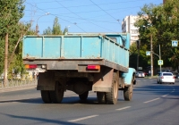 Самосвал САЗ на шасси ГАЗ-3307 #А852МН163. Самара, Партизанская улица