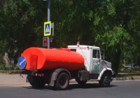 Поливомоечная на базе ЗиЛ-4333 #У718УР163. Самара, Революционная улица