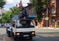 Автоподъемник на базе Mitsubishi Canter #Н736РН39. Самара, Красноармейская улица
