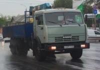 Манипулятор на базе КАМАЗ-53215 #К509ТР63. Самара, улица Авроры