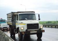 Самосвал ГАЗ-САЗ-35071 на шасси ГАЗ-3309 #О851ХХ163. Самара, Южный мост