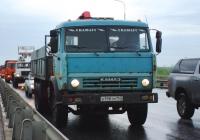 Бортовой грузовой автомобиль КамАЗ-53215 с манипулятором #А198ТМ163. Самара, Южный мост