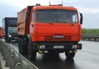 Самосвал КамАЗ-65115 #Р216ХХ63. Самара, Южный мост