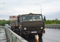 Седельный тягач КамАЗ-5410 #Н110МН63. г. Самара, Южный мост