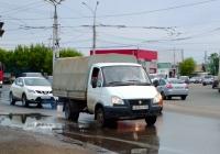 """Грузовой автомобиль ГАЗ-3302.288 """"ГАЗель-Бизнес"""" #Х659ОУ163. г. Самара, Новокуйбышевское шоссе"""
