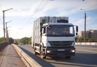 Мусоровоз ZOELLER MEDIUM на шасси Mercedes-Benz Axor #А107ЕУ763. г. Самара, ул. XXII Партсъезда