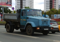 Самосвал ЗиЛ-ММЗ-45085 на шасси ЗиЛ-494560 #М255КО163. г. Самара, Московское шоссе