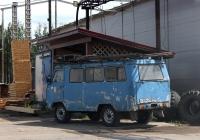 Микроавтобус Кубанец-У1К #Т 383 КА 60. Псков, Железнодорожная улица