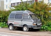 Микроавтобус Subaru Domingo #В 749 ЕР 60. Псков, улица Шестака