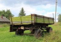 Тракторная телега 2ПТС-4* #ПВ 0335. Псковская область, Новоржевский район, Орша