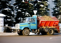 коммунальная машина КДМ-130 на шасси ЗиЛ-433362 #О256МТ163. Самара, Ленинская улица