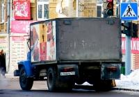 Хлебовоз на шасси ГАЗ-3307 #К166РЕ163. Самара, Красноармейская улица