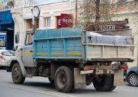 Самосвал ЗиЛ-ММЗ-45065 #А137КТ163. г. Самара, ул. Куйбышева