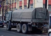 Грузовой автомобиль повышенной проходимости КамАЗ-43114 #1752ЕХ76. Самара, улица Шостаковича