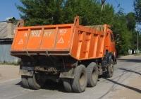 Самосвал КАМАЗ-65115 #А497МТ163. г. Самара, Прожекторная ул.