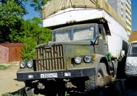 Фургон на шасси КрАЗ-255Б1 #А362АК64. г. Самара, ул. Тихвинская