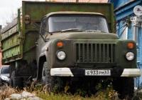 Самосвал ГАЗ-САЗ-3507 #Е933РМ63. г. Самара, Самарская улица