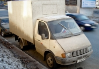 "Фургон на шасси ГАЗ-3302 ""Газель"" #Т445ОО163. Самара, улица Гагарина"