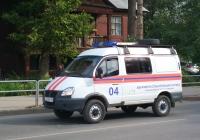 """Оперативный автомобиль газовой службы 27323Н на базе ГАЗ-27527 """"Соболь"""" #У723МР163. Самара, Революционная улица"""
