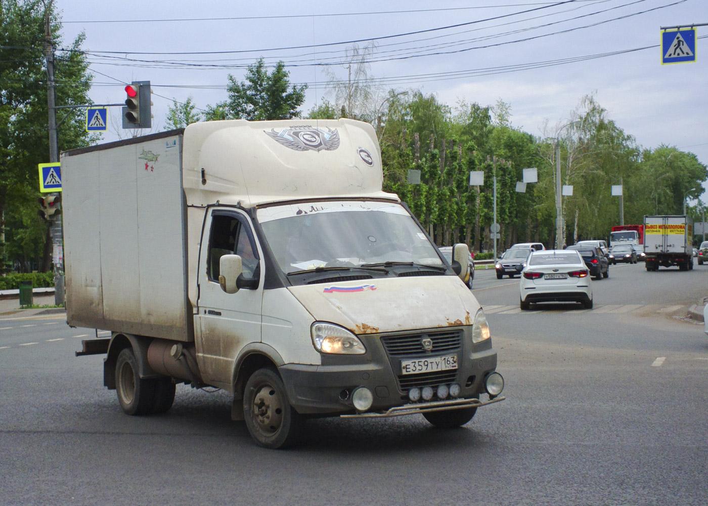 Фургон на шасси ГАЗ-3302-288 #Е359ТУ163. г. Самара, ул. Советской Армии