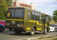 Служебный автобус ПАЗ-32053 #9554АЕ76. г. Самара, ул. Авроры