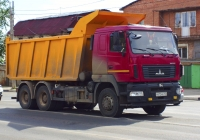 Cамосвал МАЗ-6501 #В672МВ763. г. Самара, ул. Авроры