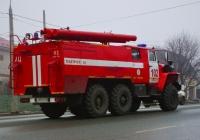 пожарная автоцисцерна на шасси Урал-5557 #Р029СО163. Самара, улица Авроры