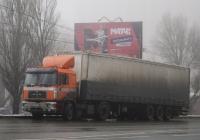 Cедельный тягач MAN F90 #С120ТХ163. г. Самара, ул. Авроры