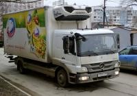 Рефрежираторный фургон на шасси Mercedes-Benz Atego 1222 (2009) #С723СН750. г. Самара, ул. Партизанская