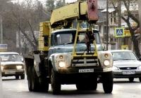 автокран КС-3575А на шасси ЗиЛ-133ГЯ #Т626МО63. Самара, улица Авроры