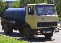 Илососная машина на базе МАЗ-5551 #У197СС163. г. Самара, ул. Партизанская