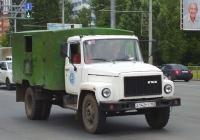 Фургон К66Н на шасси ГАЗ-3307 #А142РТ163. Самара, Московское шоссе
