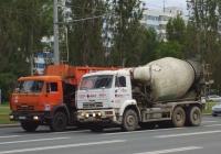Бетоносмеситель на шасси КамАЗ-6520 #А401ТА163. г. Самара, Московское шоссе
