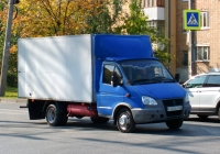 "Фургон на шасси ГАЗ-3302-288 ""Газель-Бизнес"" #С305РО163. г. Самара, улица Мяги"