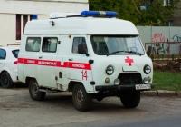 автомобиль скорой медицинской помощи УАЗ 39625 #Х650ОН163. Самара, улица Мяги