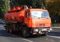 бензовоз на шасси КамАЗ-65115 #О084ХЕ163. Самара, улица Мичурина