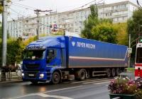 седельный тягач Почты России на шасси Iveco #А450ОВ716. Самара, Коммунистическая улица