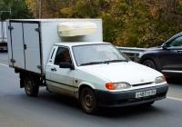 изотермический фургон на шасси ВИС-2347 (2115) #У483ТЕ64. Самара, Народная улица